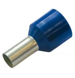 Конечная гильза для устойчивых к коротким замыканиям проводов, 2.5/8, цвет синий / 270904