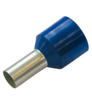 Конечная гильза для устойчивых к коротким замыканиям проводов, 2.5/8, цвет синий