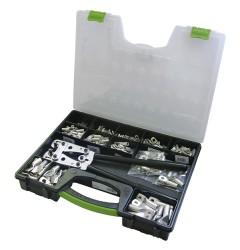 Ассортимент прессованных кабельных наконечников DIN / 290382, 290382, 36212 руб., 290382, , Кабельные наконечники