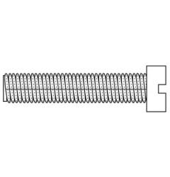 Винт с цилиндрической головкой DIN 84, форма A